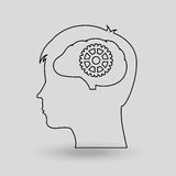 Brain storm design Royalty Free Stock Photography