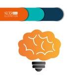 Brain storm design Stock Images