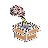 Brain storm design Stock Photography