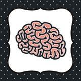 Brain storm design Royalty Free Stock Photos