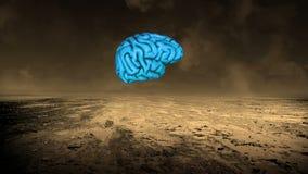 Brain Storm, Geistesblitz, Brainstorming, Intelligenz stock abbildung