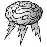 Brain Storm Illustration illustration stock