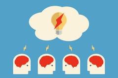 Brain storming Stock Image