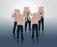 Brain storming businessmen Royalty Free Stock Image