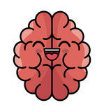 Brain storming character concept icon Stock Photography