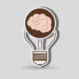 Brain storming design. Illustration eps10 graphic Stock Images