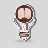 Brain storming design. Illustration eps10 graphic Royalty Free Stock Images