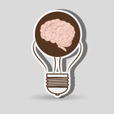 Brain storming design. Illustration eps10 graphic Stock Photo