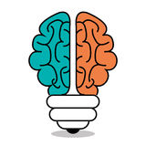 Brain storming design Royalty Free Stock Photography