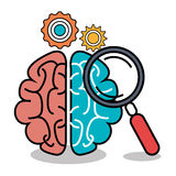 Brain storming design. Brain storming  design,  illustration eps10 graphic Stock Photography