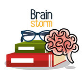 Brain storming design Stock Image