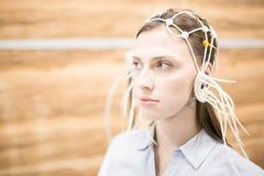 Brain test royalty free stock photos