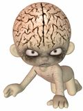 The Brain - Toon Figure Stock Photography