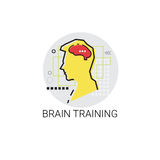 Brain Training Think New Idea Inspiration Creative Process Business Icon Royalty Free Stock Photos