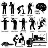 Brain Tumor Cancer Clipart stock illustrationer