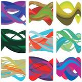 Brain Waves colorido abstracto Fotos de archivo libres de regalías