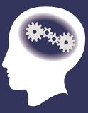 Brain Working Royalty Free Stock Photography