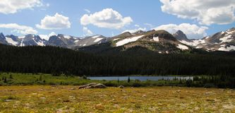 Brainard lake - Colorado Stock Photo