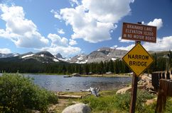 Brainard lake - Colorado Royalty Free Stock Photos