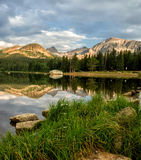 Brainard lake reflections Stock Image