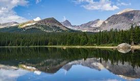 Brainard sjö i Ward Colorado arkivfoto