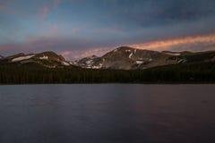 brainardcolorado lake Arkivfoto