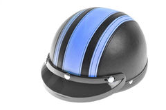 Braincap motorcycle helmet Royalty Free Stock Photography