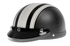 Braincap motorcycle helmet Stock Image