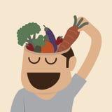 Brains food Stock Photos