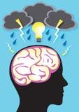 Brainstorm Иллюстрация вектора