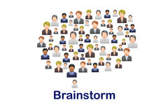 brainstorm Foto de Stock Royalty Free