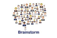 brainstorm Royalty-vrije Stock Foto