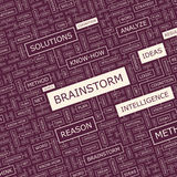 BRAINSTORM Royalty Free Stock Photography