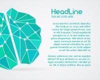 Brainstorm, brain, creation and idea poster Stock Photos