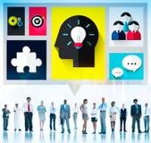 Brainstorm Brainstorming Sharing Teamwork Planning Concept Stock Photos