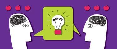 Brainstorm business idea Stock Images