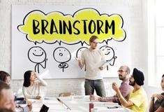 Brainstorm Business Work Discussion Concept Stock Photos