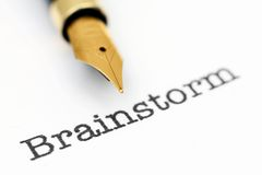 Brainstorm Royalty Free Stock Image