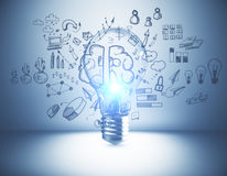 Brainstorm concept Royalty Free Stock Image