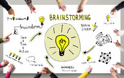 Brainstorm concept Royalty Free Stock Photography