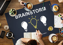 Brainstorm Creative Ideas Discussion Thinking Concept Royalty Free Stock Image