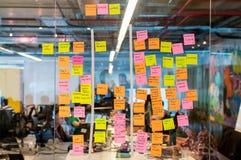 Brainstorm deski poczta ja zdjęcia stock