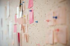 Brainstorm deski poczta ja Obrazy Stock