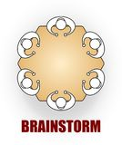 Brainstorm icon Stock Image