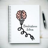 Brainstorm idea concept Royalty Free Stock Image