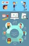 Brainstorm, Idea, Realization. Stock Photos