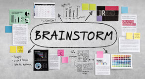Brainstorm Inspiration Ideas Analysis Concept Royalty Free Stock Images