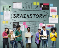 Brainstorm Inspiration Ideas Analysis Concept Royalty Free Stock Photos