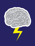Brainstorm Lightning Royalty Free Stock Photography