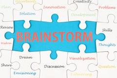 Brainstorm pojęcie Zdjęcia Stock